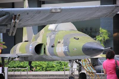 Caza F-5 americano de la Guerra de Vietnam