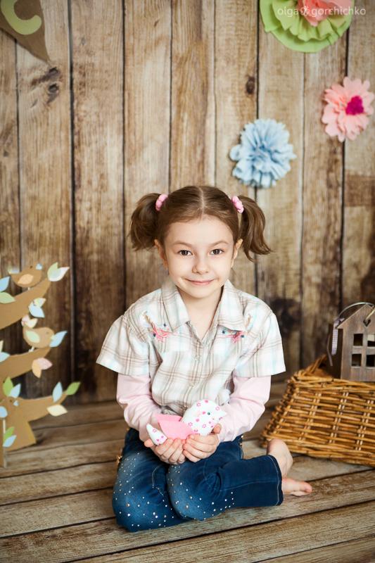 Детский весенний фотопроект. Детский фотограф Гродно