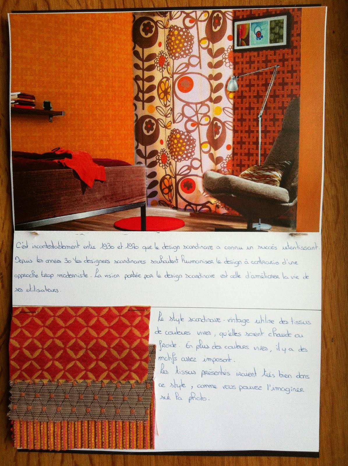 Devoir N 2 Rideaux Voilages Textiles Ma Formation En