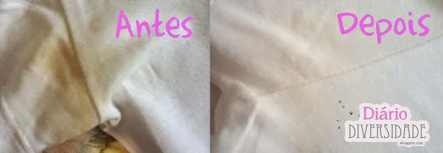 Como tirar manchas de desodorante das roupas