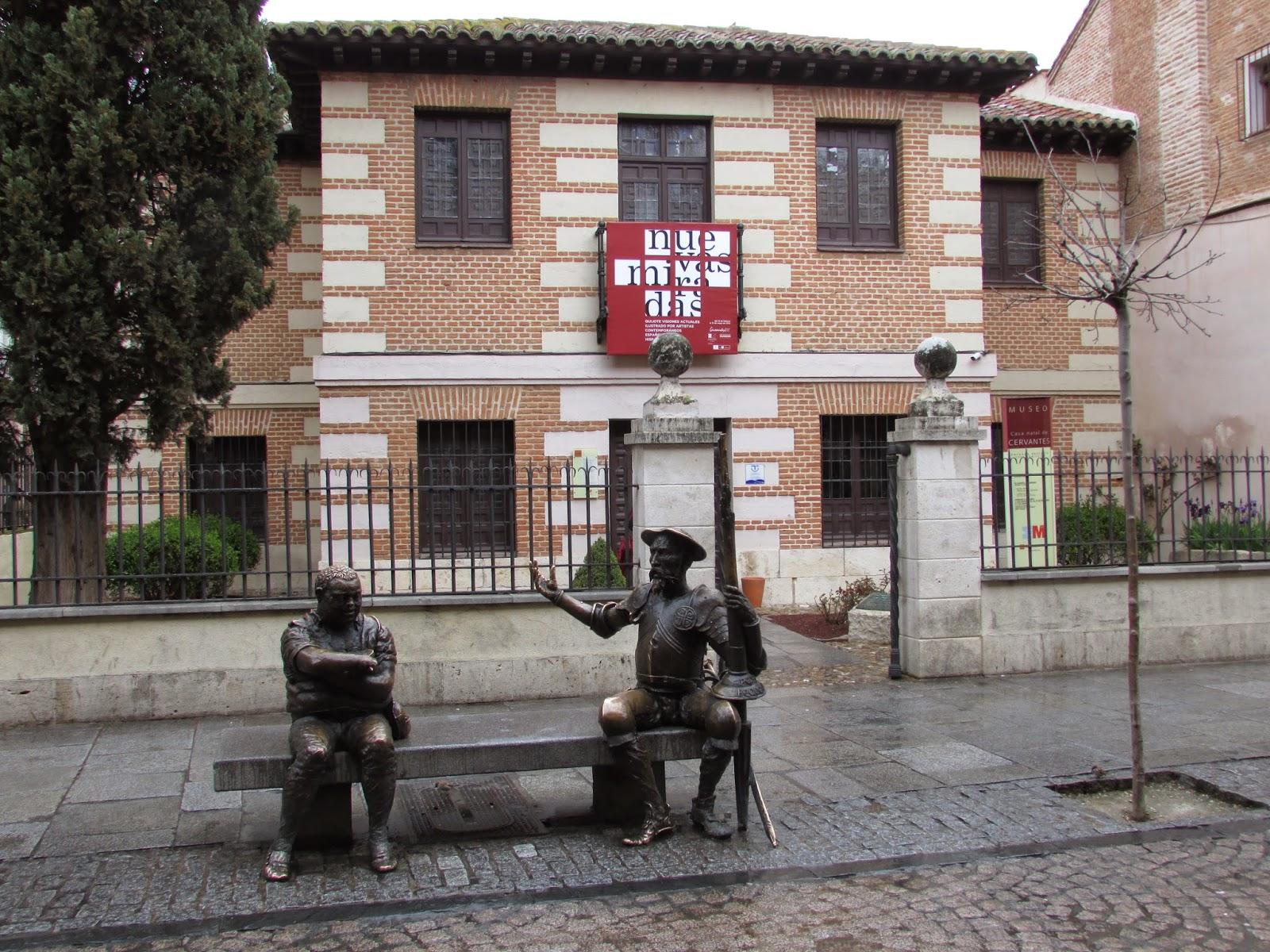 Almáciga de olvidos: Museo Casa natal de Cervantes en ...