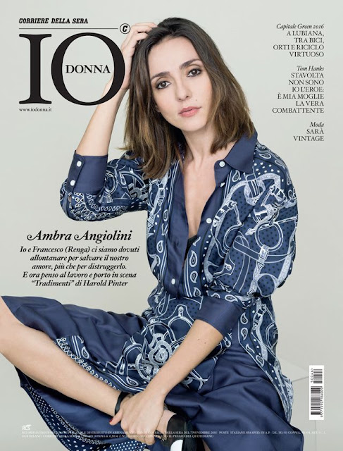 Actress, Singer @ Ambra Angiolini - Io Donna Italy, November 2015