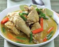 Cara Membuat Kari Ayam