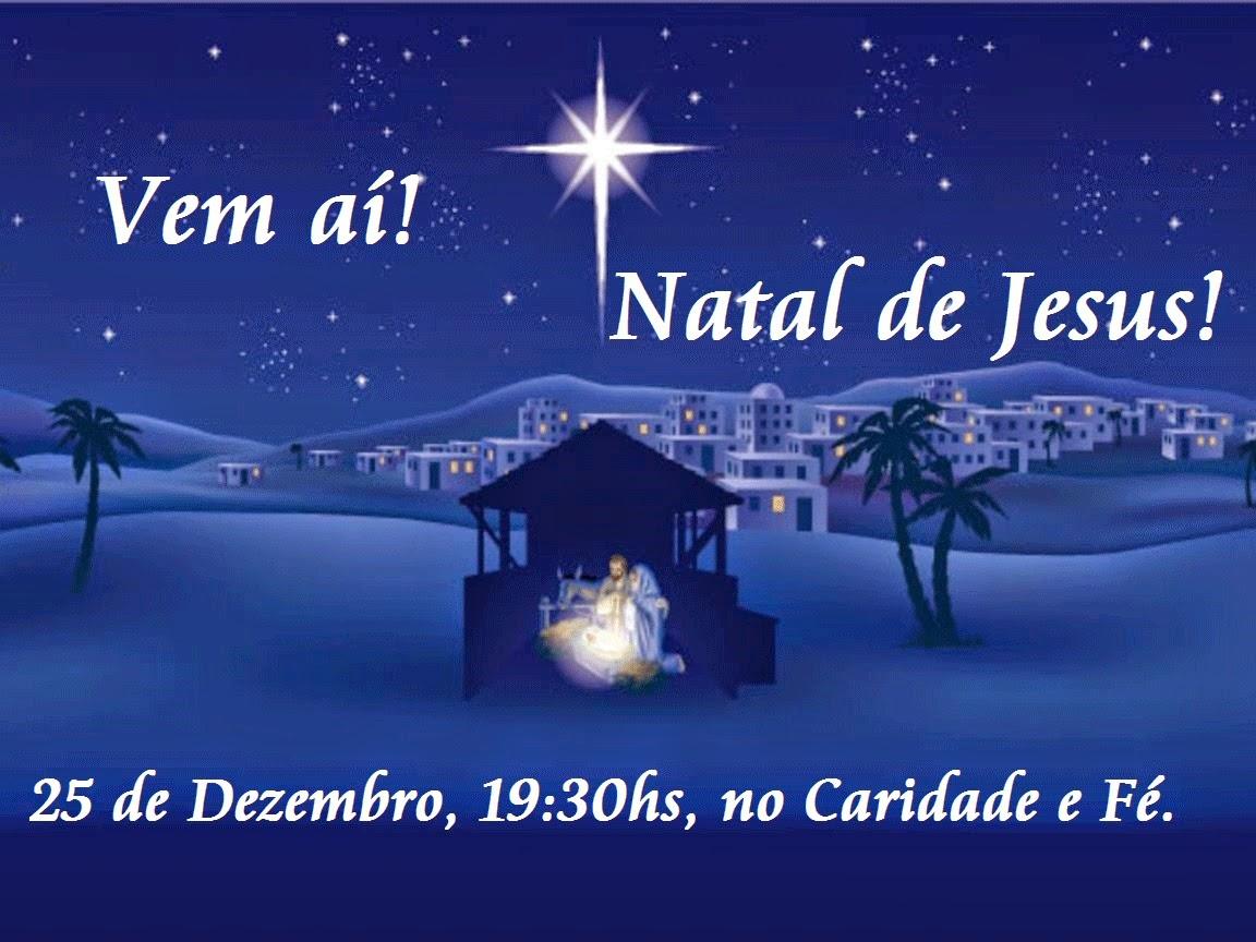 Natal do Caridade e Fé