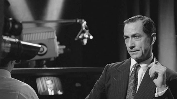 David Strathairn as Edward R. Murrow in Good Night and Good Luck