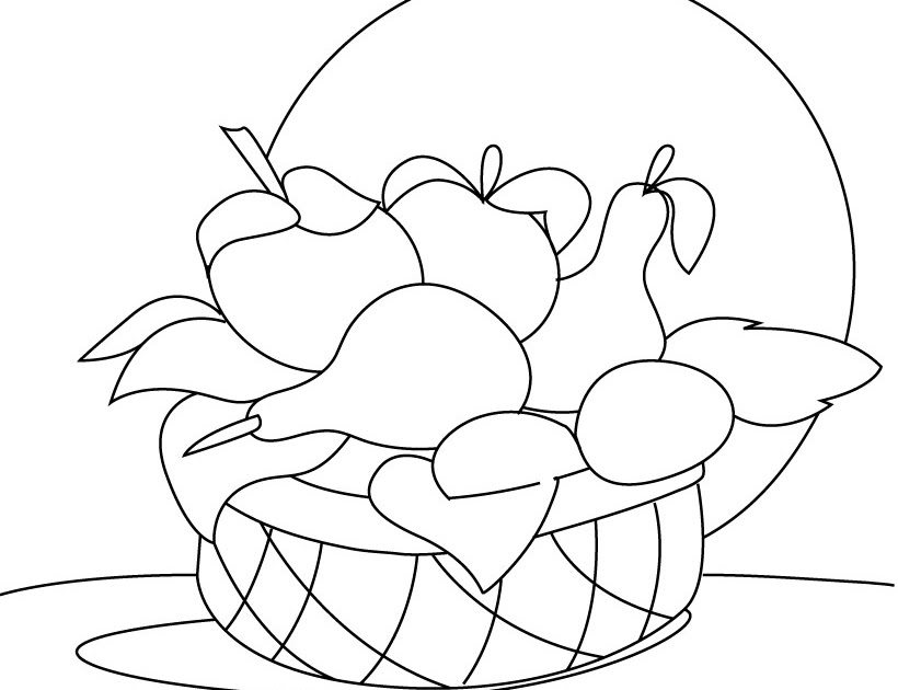 mangosteen coloring pages - photo#15
