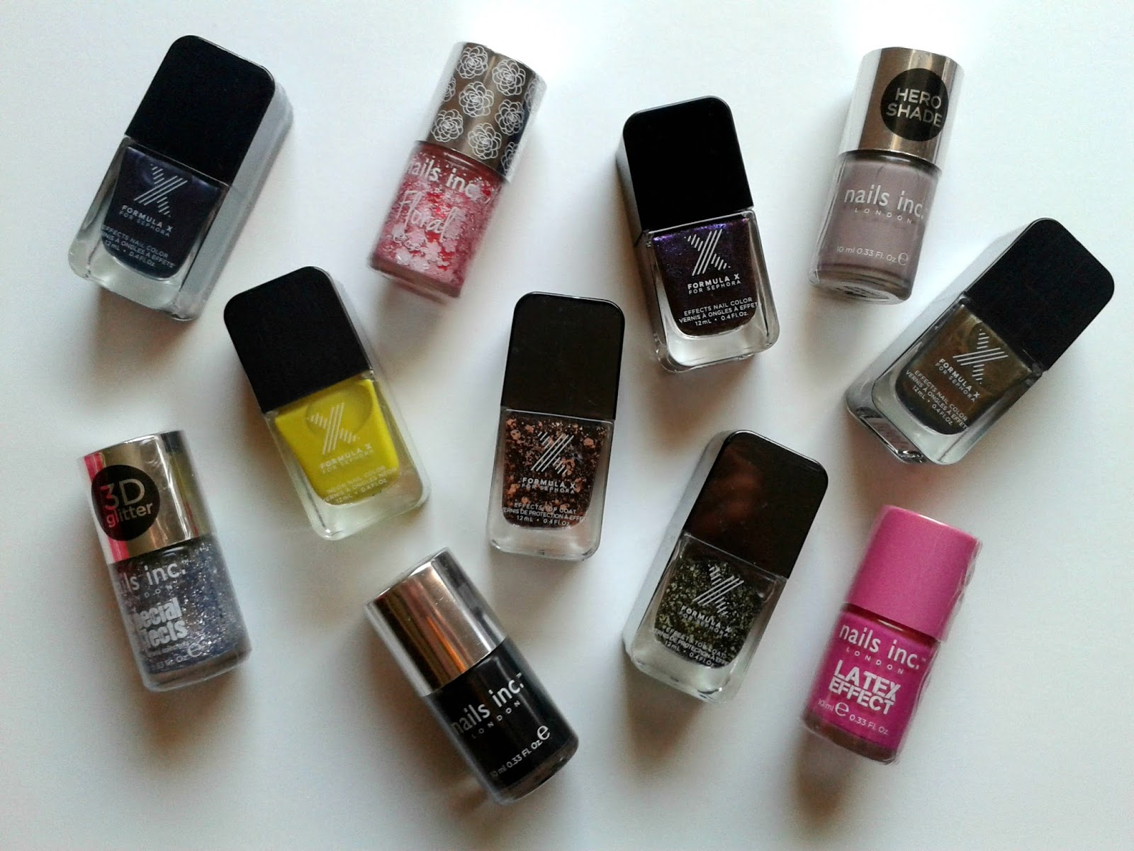 Sephora Sale Nail Polishes Nails Inc Formula X