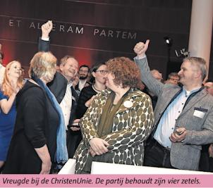 ChristenUnie 2e partij van Gouda (2018)