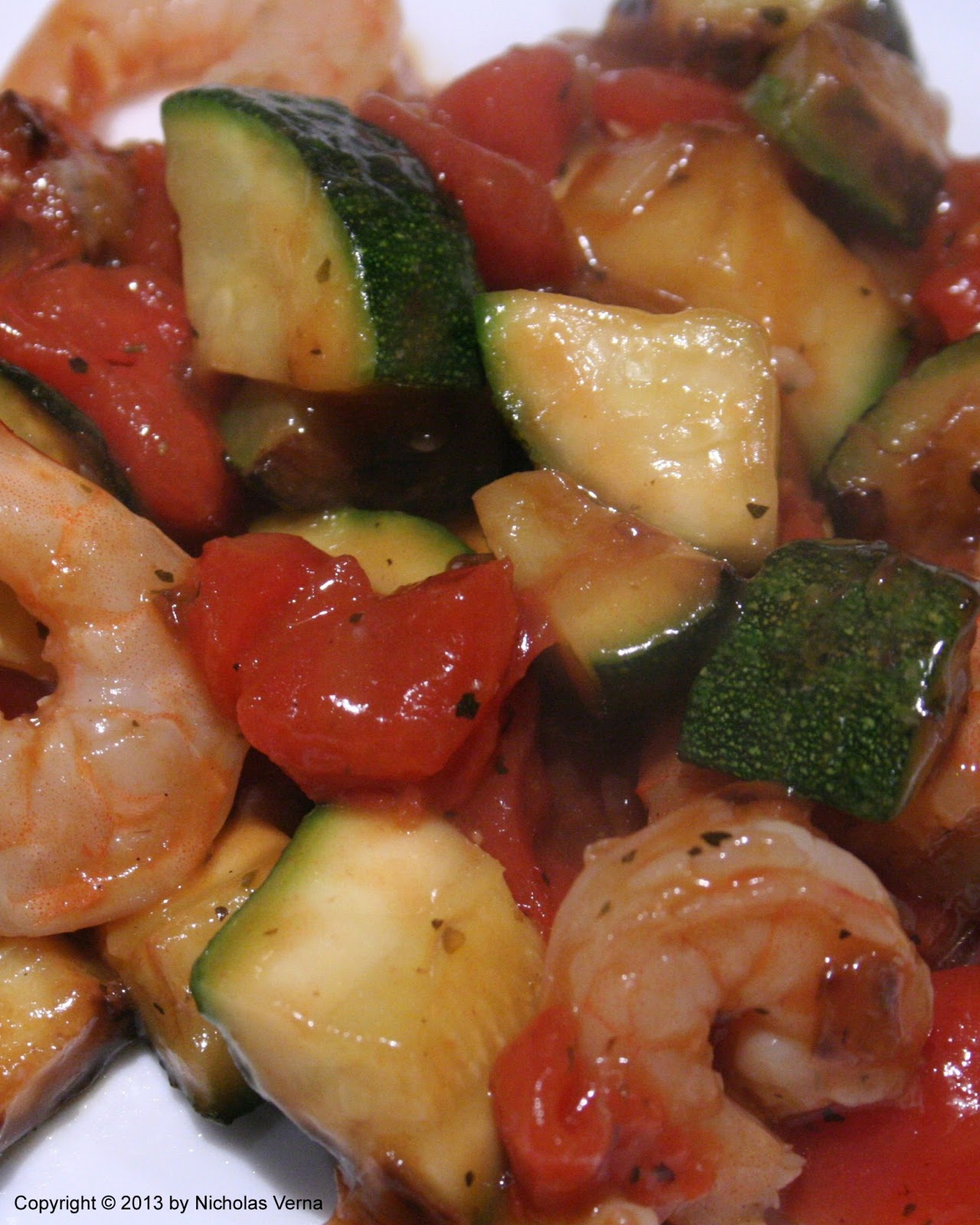 shrimp zucchini and sweet tomatoes bathed in a light marsala sauce ...