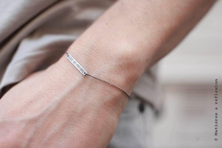 Bracelet Mathias Chaize 'Art or Nothing'