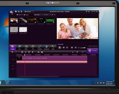 تحميل برنامج تركيب ودمج الصور في الفيديو مجانا Download Wondershare Video Editor