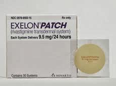 Novartis exelon patch