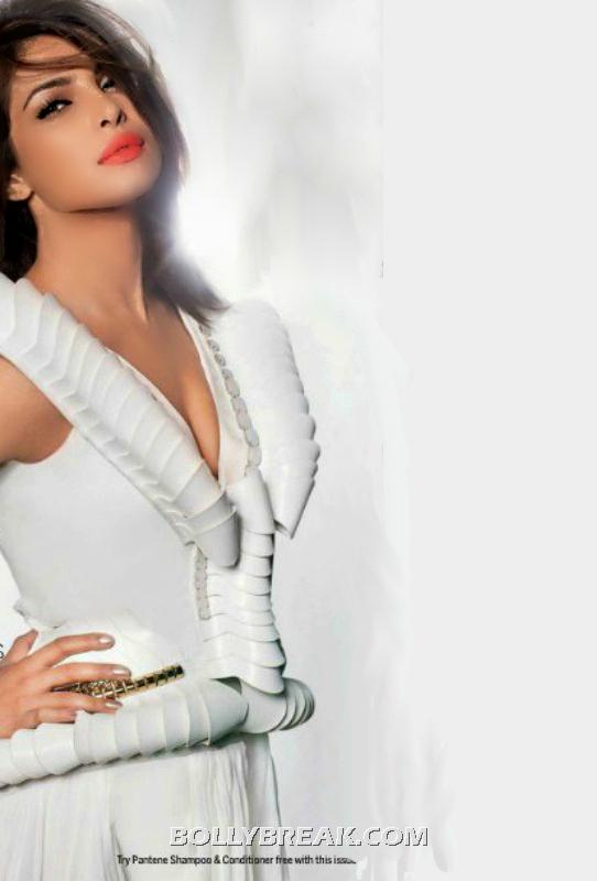 Priyanka chopra in white dress - femina magazine scan - Priyanka chopra Femina India Latest Scan
