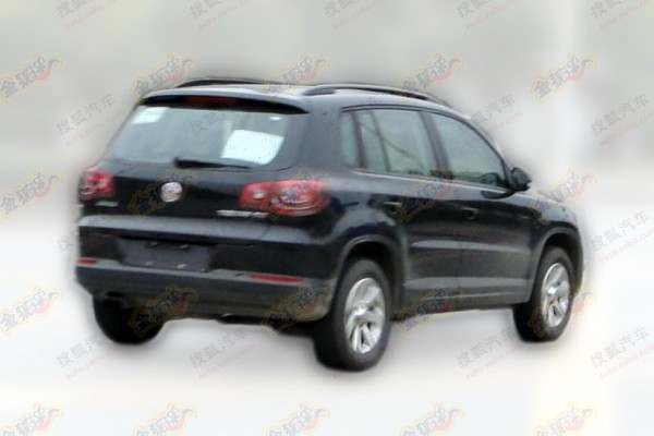 Updated Volkswagen Tiguan 2015 in China - Garage Car