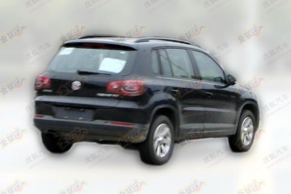 Updated Volkswagen Tiguan 2015 in China