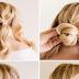 Cute Bun Hairstyle Tutorial For Wedding Parties