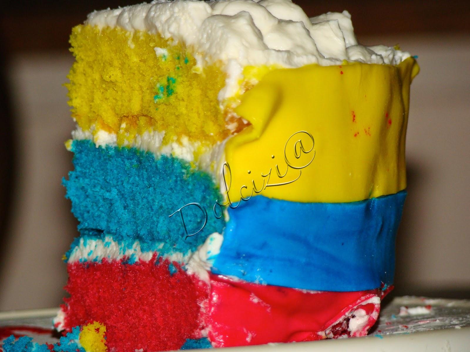 torta bandiera dell'ecuador