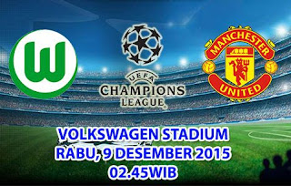 Wolfsburg vs Manchester United