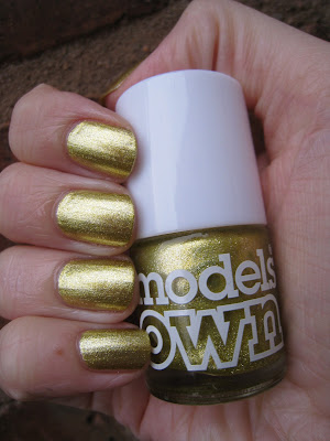 Models-Own-nail-polish-green-gold