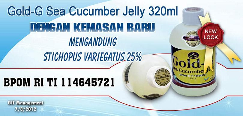 Manfaat Gamat Gold-G Jelly