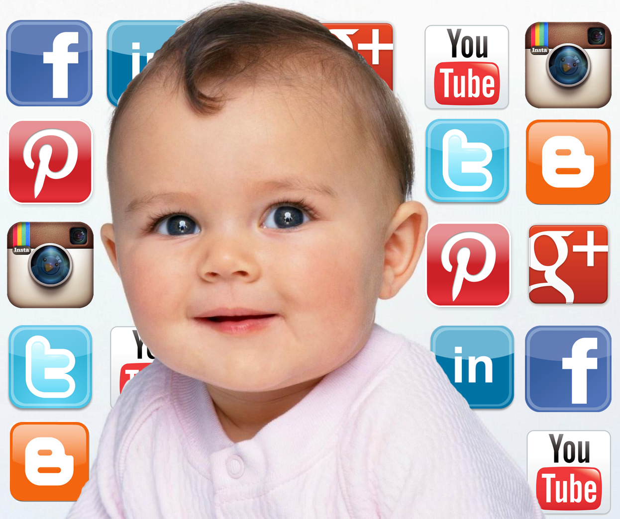 Newbies, like babies, need to start exploring social media