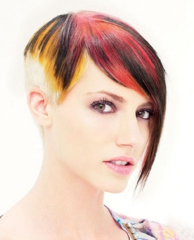 Rainbow Hair Color 2014