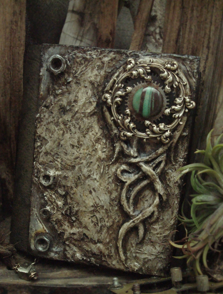 Diy Fantasy Book Covers ~ Altered alchemy july