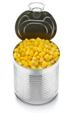 Food Storage for Dinner: CANNED CORN: Bacon Corn Hash