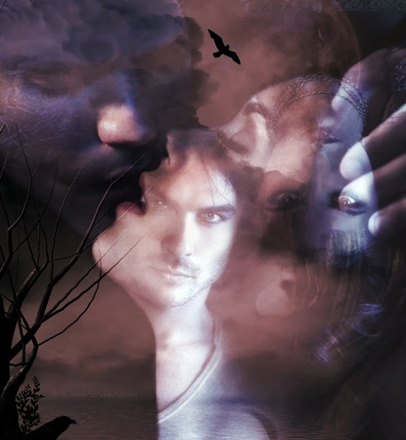 Vampire Diaries Digital Art