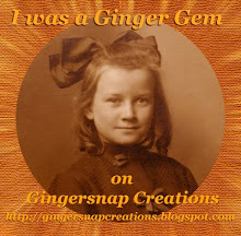 I was chosen as a Ginger Gem!