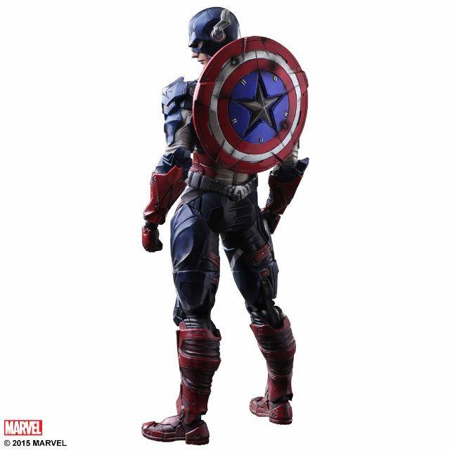 Square Enix Play Arts Kai Captain America Marvel Universe Variant