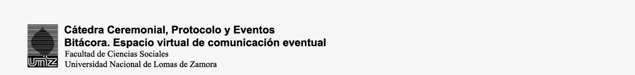Cátedra Ceremonial, Protocolo y Eventos