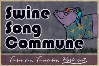Artist Andy Warhog Completes Mural for Swine Song Commune!