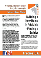 Finding a new home builder in Adelaide