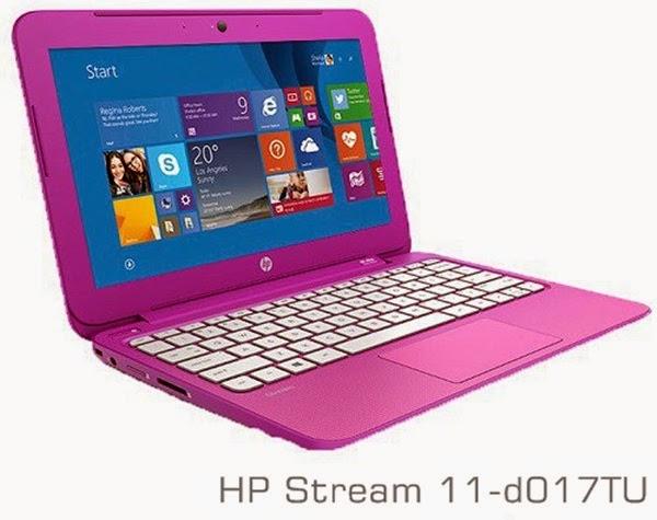 Harga dan Spesifikasi Laptop HP Stream 11-d017TU