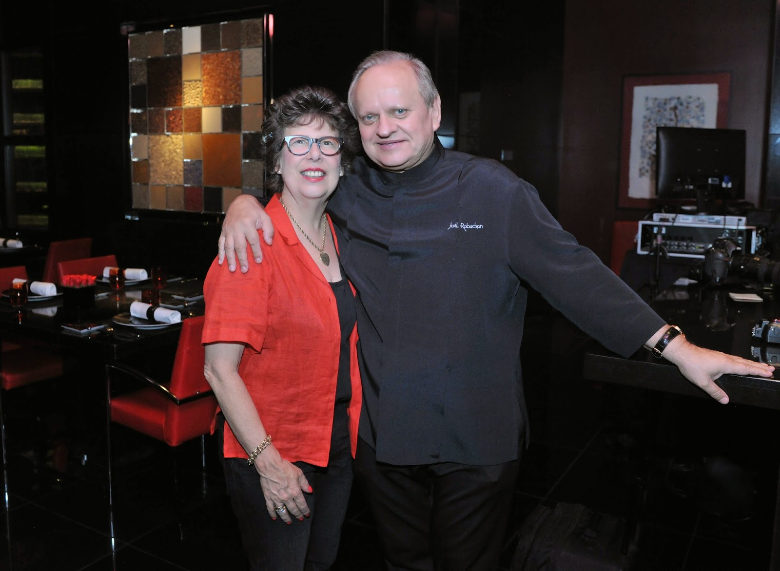 2014 Vegas UnCork'd Joel Robuchon Cooking demo with food stylist Alice Hart L'Atelier de Joel Robuchon