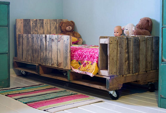 Cupboards kitchen and bath when trends attack shipping for Kids pallet bed
