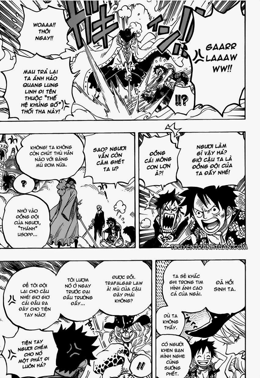 one piece truyentranhtuan com chap 748 trang 008, One Piece chap 748   NarutoSub
