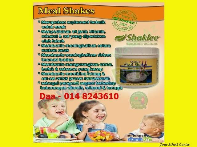 Mealshake, Testimoni Mealshake, Promosi, Pengedar Shaklee Kuantan, Produk SHAKLEE,