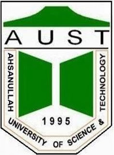 Ahsanullah University of Science and Technology (AUST) Logo