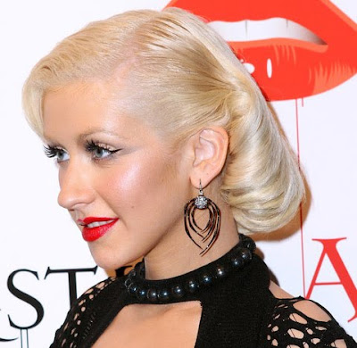 Christina Aguilera Dangle Decorative Earrings