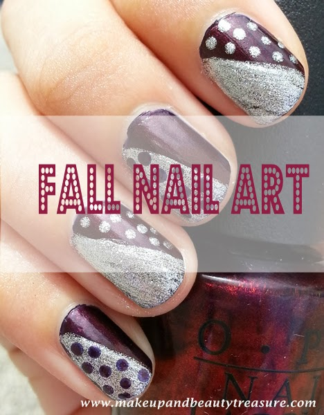 Simple Nail Art Tutorial for Fall