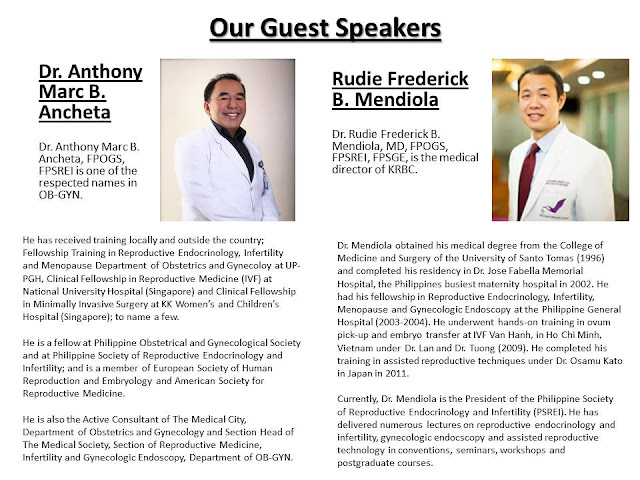 filipino fertility expert, Dr. Anthony Marc B. Ancheta, Dr. Rudie Frederick B. Mendiola, psrei,