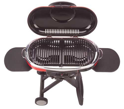 coleman roadtrip grill lxe 285 square inches cooking surface