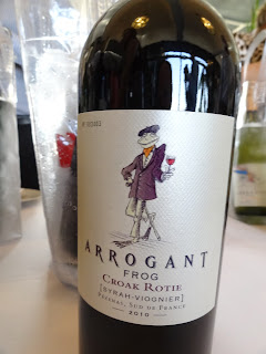 Arrogant Frog Croak Rotie Syrah and Viognier