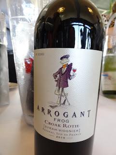 Arrogant Frog Croak Rotie Syrah and Viognier