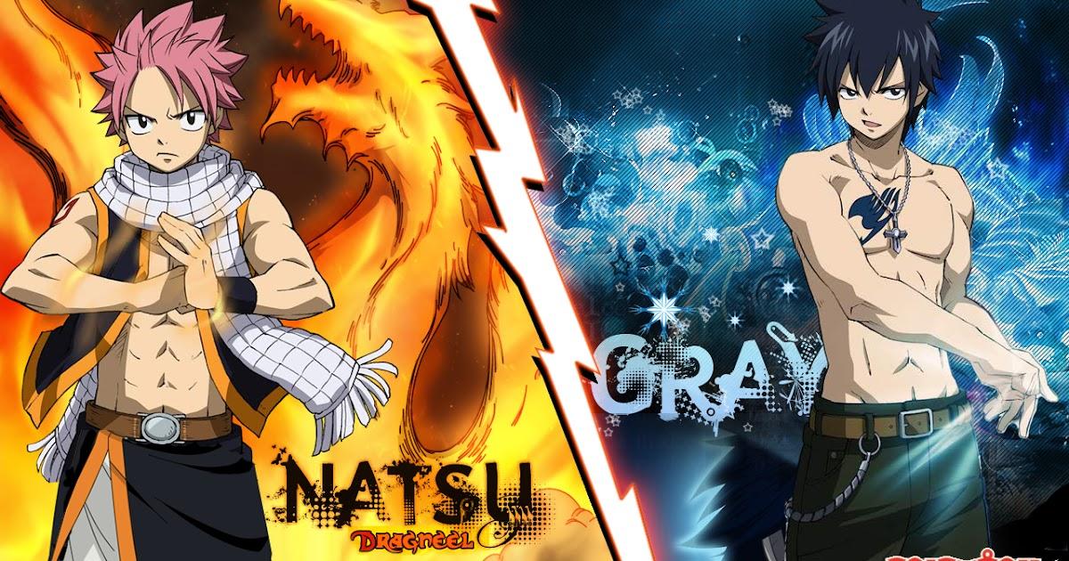 Fairy tail guilda fotos de natsu vs gray - Image de natsu fairy tail ...