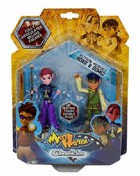 JUGUETES - Matt Hatter Chronicles   Roxie & Gomez | Pack | Figura - Muñeco  Producto Oficial | Simba | A partir de 3 años