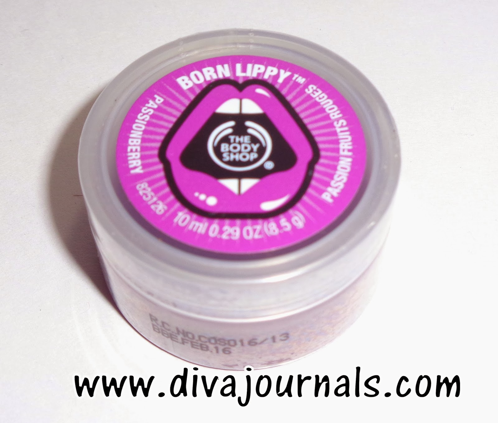 The Body Shop Born Lippy Butter