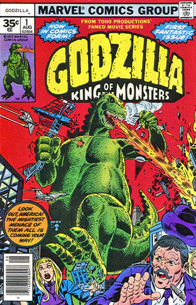 Rip's FAVORITE GIANT MONSTER COMICS COVER Of The Day!